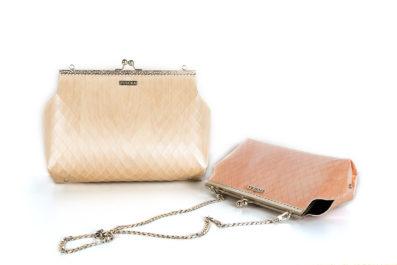borsa texture legno