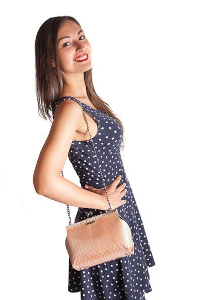Fuscra wooden bag